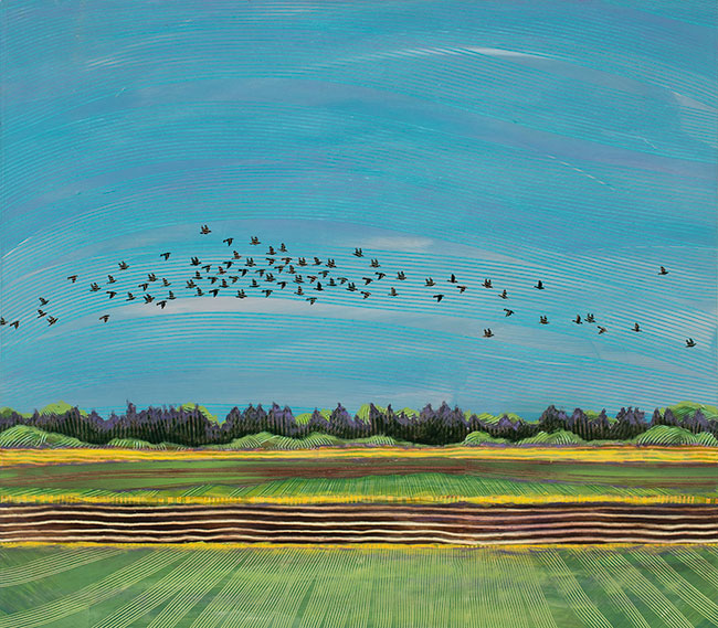 Field-Above-Canby-Ferry-34x30-Ann-Munson