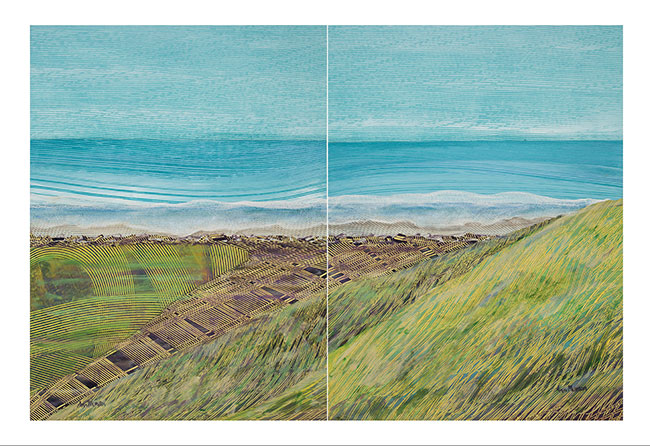 North-End-of-the-Trail-Ebeys-landing-24x36-diptych