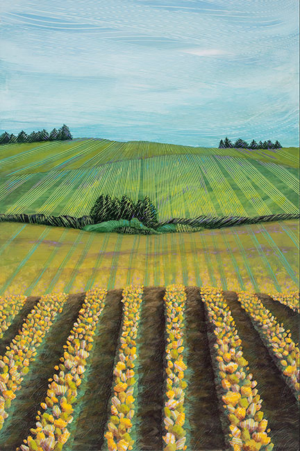 A.-Yellow-Tulip-Field-24x36-Ann-Munson