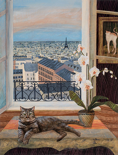 Binx-Goes-to-Paris-30x40Ann-Munson