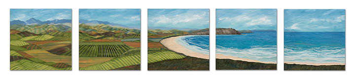 5-panel-Torrance-Memorial-36x36-each-Ann-Munson