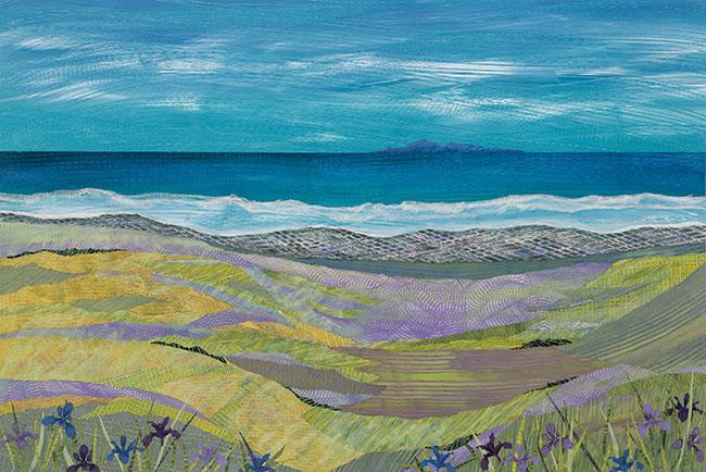 Iris-at-the-Beach-no.-2-40x60-Ann-Munson