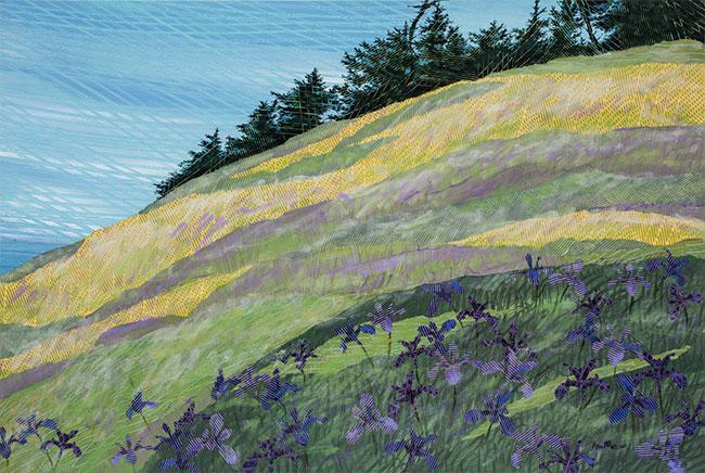 Iris-on-the-Hill-18x24-Ann-Munson