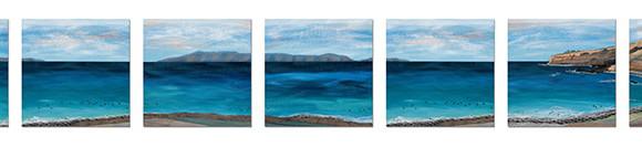 7-panel-Catalina-Island-for-South-Bay-Hospital-30x30-each-Ann-Munson