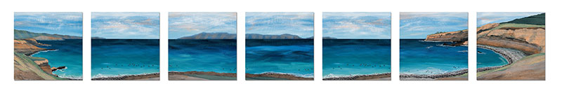 7-panel-Catalina-Island-for-South-Bay-Hospital-30x30-each-Ann-Munson