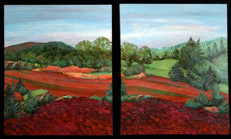 Willamette-Valley-Clover-diptych-Ann-Munson