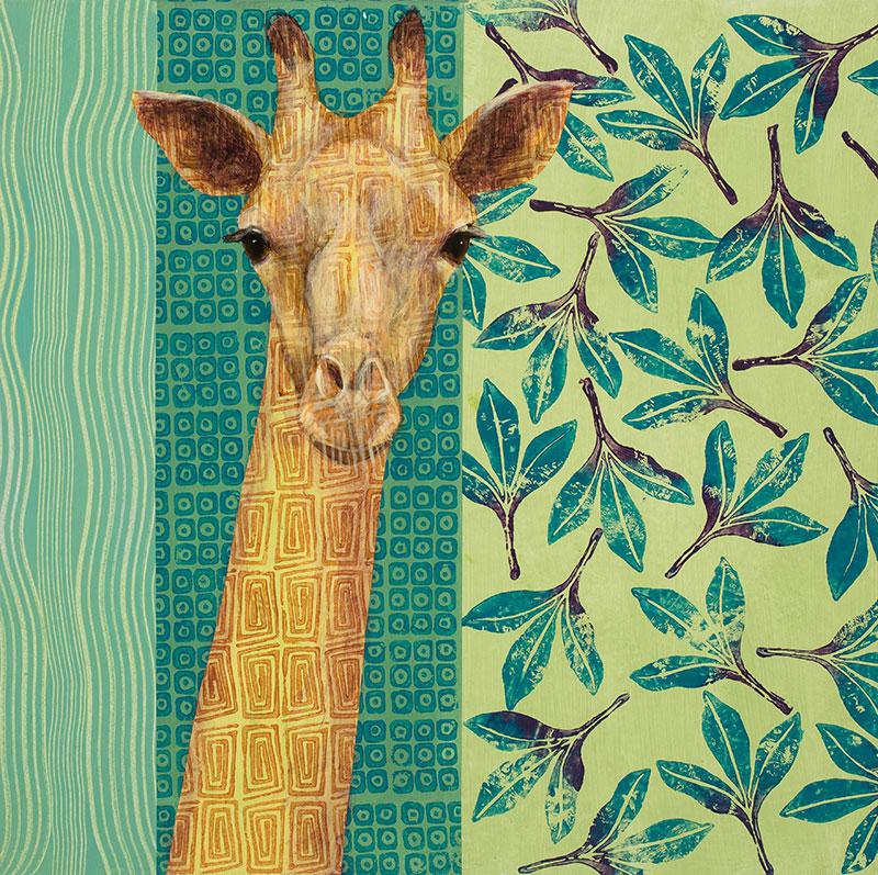 Giraffe-24x24-Ann-Munson