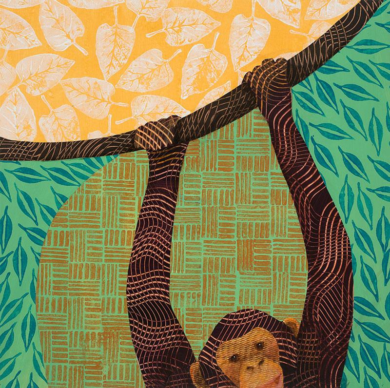 Monkey-24x24-Ann-Munson