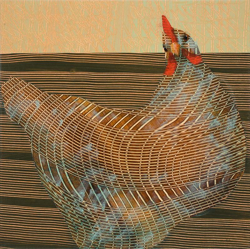 Swoop-Hen-12x12-Ann-Munson