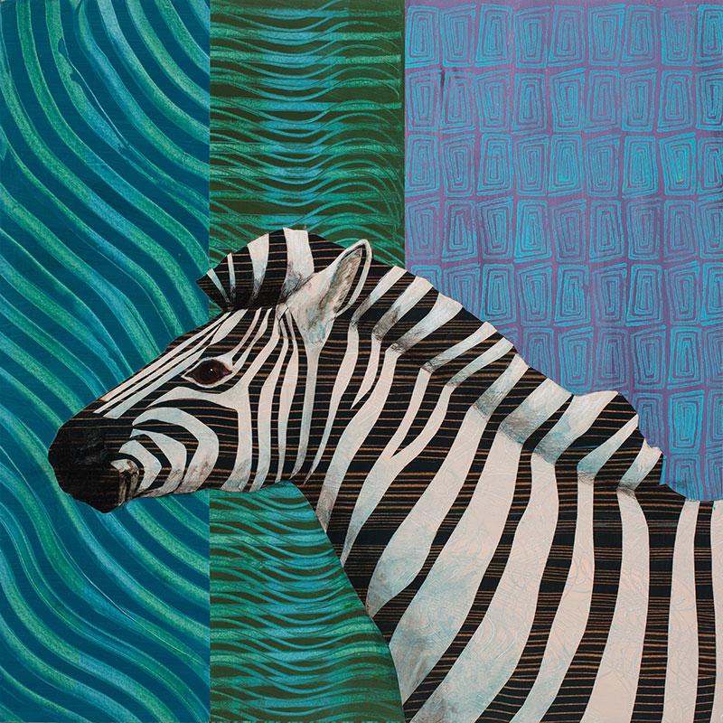 Zebra-24x24-Ann-Munson