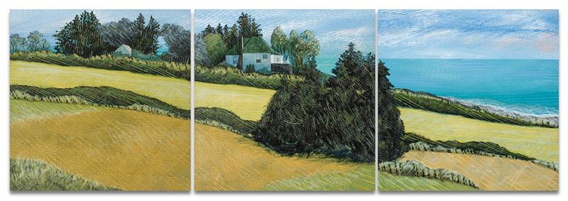 Whidbey-Home-triptych-24x72-Ann-Munson