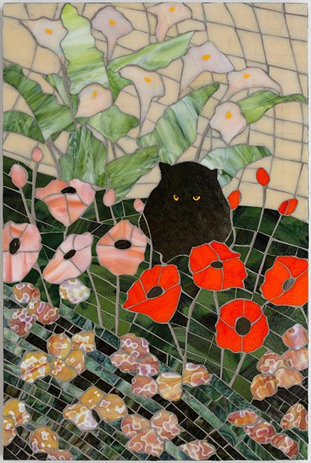 BlackCatGlass-24x36-Ann-Munson