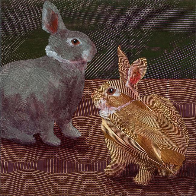 Rabbits1-18x18-Ann-Munson