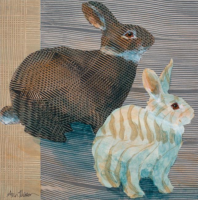 Rabbits3-18x18-Ann-Munson