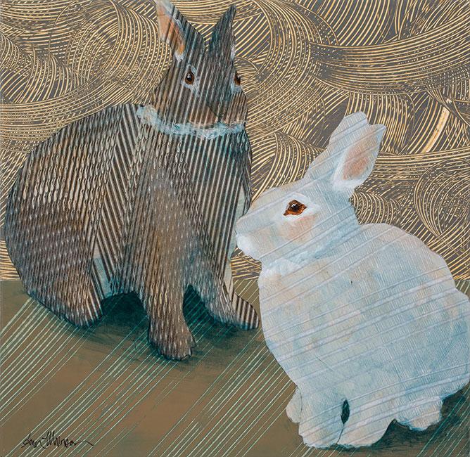 Rabbits4-18x18-Ann-Munson